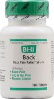 MediNatura  BHI Back Pain Relief Tablets