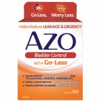 Azo Bladder Control with Go-Less Dietary Supplement Capsules