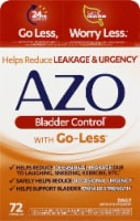 AZO Bladder Control with Go-Less Dietary Supplements