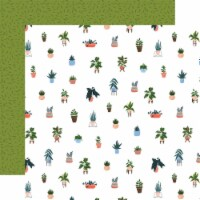 Plant Lady Double-Sided Cardstock 12 X12 -House Plant - 1