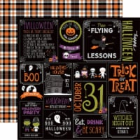 I Love Halloween Double-Sided Cardstock 12 X12 -Halloween Party - 1