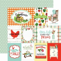 Farm To Table Double-Sided Cardstock 12 X12 -Journaling Cards - 1