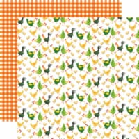 Farm To Table Double-Sided Cardstock 12 X12 -Chicken Coop - 1