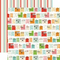 Farm To Table Double-Sided Cardstock 12 X12 -Kitchen Craze - 1