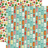 Farm To Table Double-Sided Cardstock 12 X12 -Mason Jar Madness - 1