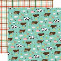 Farm To Table Double-Sided Cardstock 12 X12 -Barnyard - 1