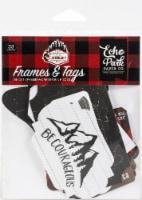 Echo Park Cardstock Ephemera 33/Pkg-Frames & Tags, Let's Lumberjack - 1