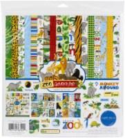 Carta Bella Collection Kit 12 X12 -Zoo Adventure - 1