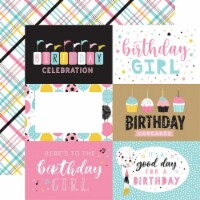 Magical Birthday Girl Double-Sided Cardstock 12 X12 -6 X4  Journaling Cards - 1