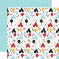 Magical Birthday Boy Double-Sided Cardstock 12 X12 -Party Time - 1