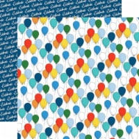 Let's Celebrate Double-Sided Cardstock 12 X12 -Bunches Of Balloons - 1