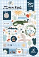 Echo Park Sticker Book-Welcome Baby Boy - 1