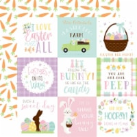 Welcome Easter Double-Sided Cardstock 12 X12 -4 X4  Journaling Cards - 1
