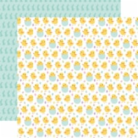 Welcome Easter Double-Sided Cardstock 12 X12 -Chirping Chicks - 1