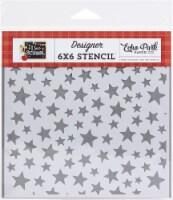 Echo Park Stencil 6 X6 -Smarty Pants Star - 1