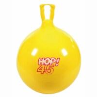 Gymnic Children's Bouncing Hop 45 Ball Yellow 18  diameter - 1
