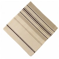 Mr. MJs Trading AG-20270S-4 Napkins, Coco Stripe - Set of 4 - 1