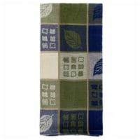 Mr. MJs Trading AG-30233S-4 Tea Towels, Green Leaf Harvest - Set of 4 - 1