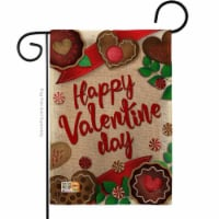 Breeze Decor BD-VA-G-101056-IP-DB-D-US17-BD 13 x 18.5 in. Very Sweet Valentine Day Burlap Spr