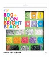 Fashion Angels Neon Bright Bead Kit 800 Piece - 800 pc