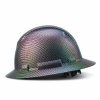 AcerPal 1CF3WH6M-S-1 Full Brim Customized Construction Carbon Fiber Hard Hat - 1 Piece