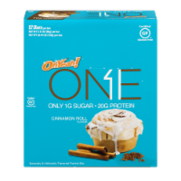 Oh Yeah One Cinnamon Roll Flavor Protein Bars 12 Count