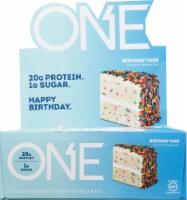 Oh Yeah! ONE Birthday Cake Protein Bars