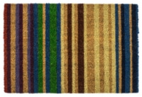 Entryways Striped Doormat - Rainbow