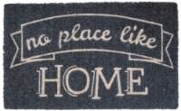 Entryways Like Home Coir Doormat - Black/Tan