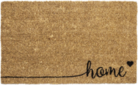 Entryways Sweet Home Script Coir Non-Slip Doormat - Natural