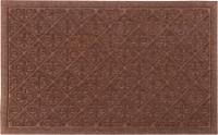 Entryways Weather Beaters Collection Fleur de Lis Doormat - Cinnamon