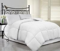 Microfiber Oversized Super Soft & Fluffy Down Alternative Comforter - White, King - King