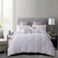 Martha Stewart 240 Thread Count White Feather and Down Fiber Comforter