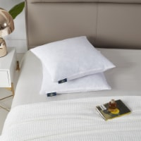 Serta Square Feather Pillow Insert - 20 in x 20 in