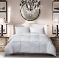 Microfiber All Season Down Alternative Comforter - Full / Queen, White