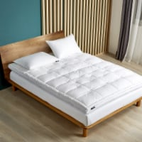 Serta 2 Inch Feather & Down Fiber Top Featherbed - Twin - Twin