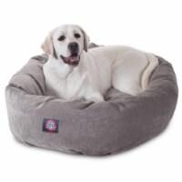 MajesticPet 788995526537 40 in. Villa Donut Pet Bed, Vintage - 1