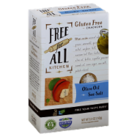 Free For All Kitchen Olive Oil & Sea Salt Crackers