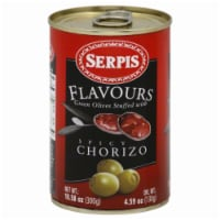 Sepris Plavours Green Olives Stuffed With Spicy Chorizo - 10.58 oz