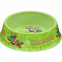 Tarhong PCP5090PBMTG Margaritaville Tropical Icons Pet Bowl, Medium - Green - 1