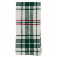 SARO 541.WG20S Cloth Table Napkins with Plaid Design - Set of 4 - 1