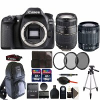 Canon Eos 80d 24.2mp Digital Slr Camera With 18-55mm & 70-300mm Lens & More - 1