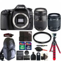Canon Eos 80d Digital Slr Camera With 18-55mm Lens , 70-300mm Lens And Accessory Bundle