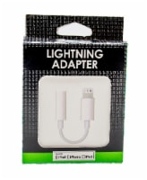 James Paul Products Lightning Adapter for Apple - White