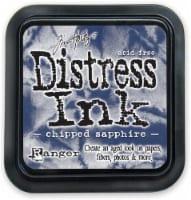 Tim Holtz Distress Ink Pad-Chipped Sapphire - 1