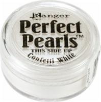 Ranger Perfect Pearls Pigment Powder .25oz-Confetti White - 1