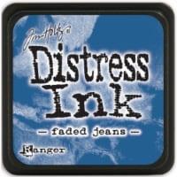 Tim Holtz Distress Mini Ink Pad-Faded Jeans - 1