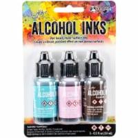 Tim Holtz Alcohol Ink .5oz 3/Pkg-Retro Cafe-Pool/Pink Sherbert/Espresso - 1