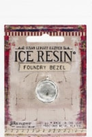 Ice Resin Foundry Bezel Collection-Silver Simple Circle - 1