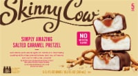 Skinny Cow Simply Amazing Salted Caramel Pretzel Low Fat Ice Cream Bars